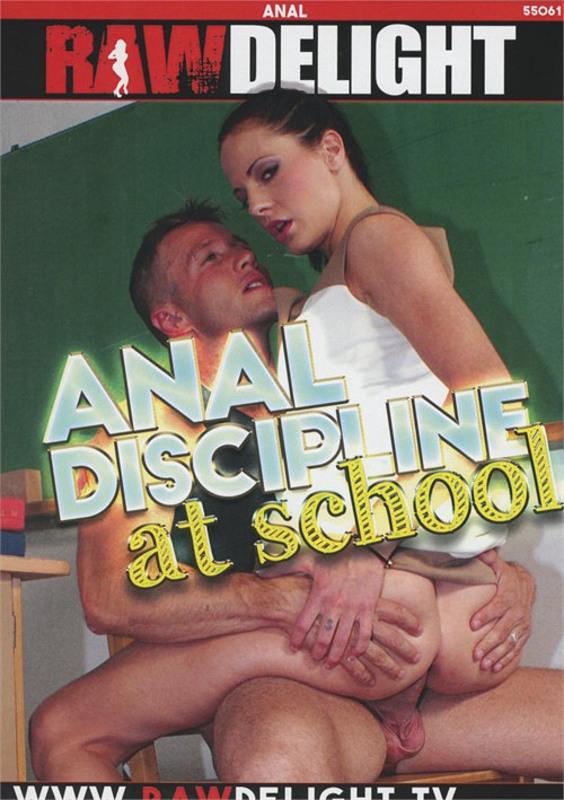 Anal Discipline At School DVD Image