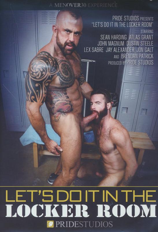 Let's Do It In The Locker Room Gay DVD Image