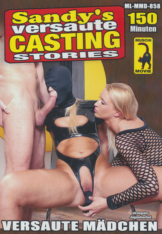 Sandy's versaute Casting-Stories DVD Image