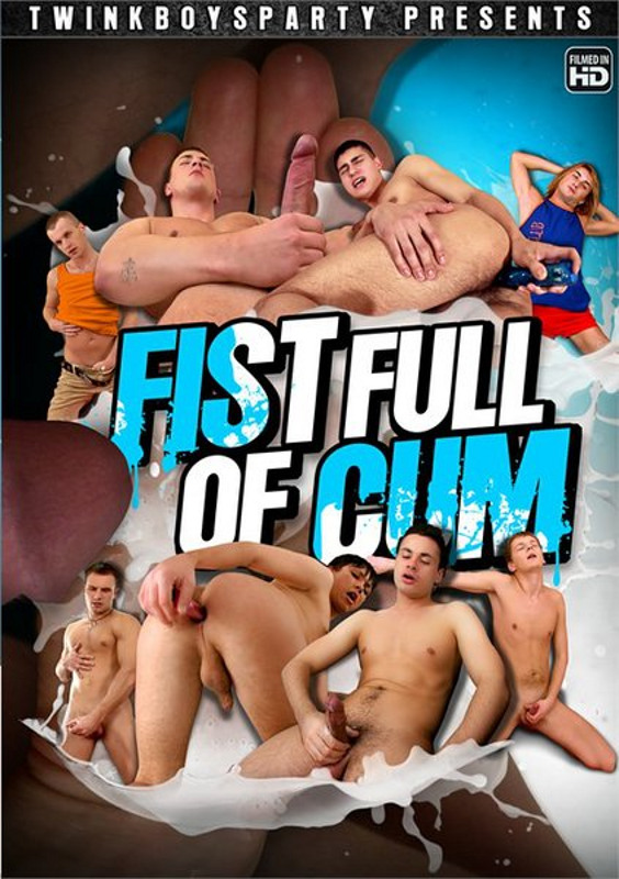 Fist Full of Cum Gay DVD Image