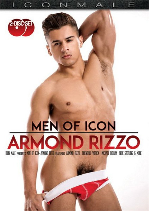 Men Of Icon: Armond Rizzo  [2 DVDs] Gay DVD Image