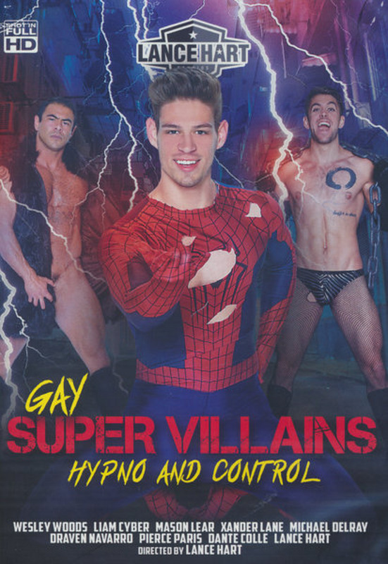 Gay Super Villians Hypno And Control Gay DVD Bild