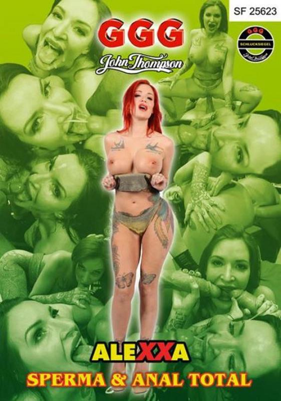 Alexxa - Sperma & Anal Total DVD Image