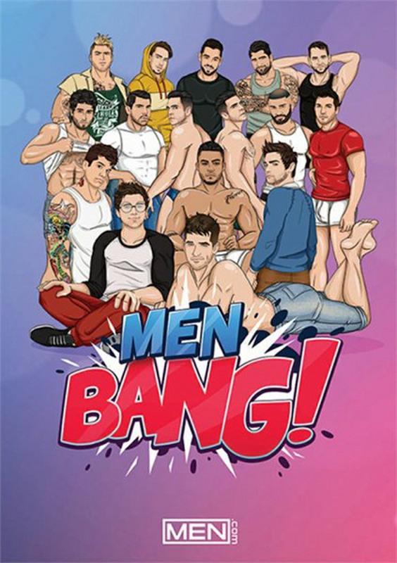 Men Bang! Gay DVD Image