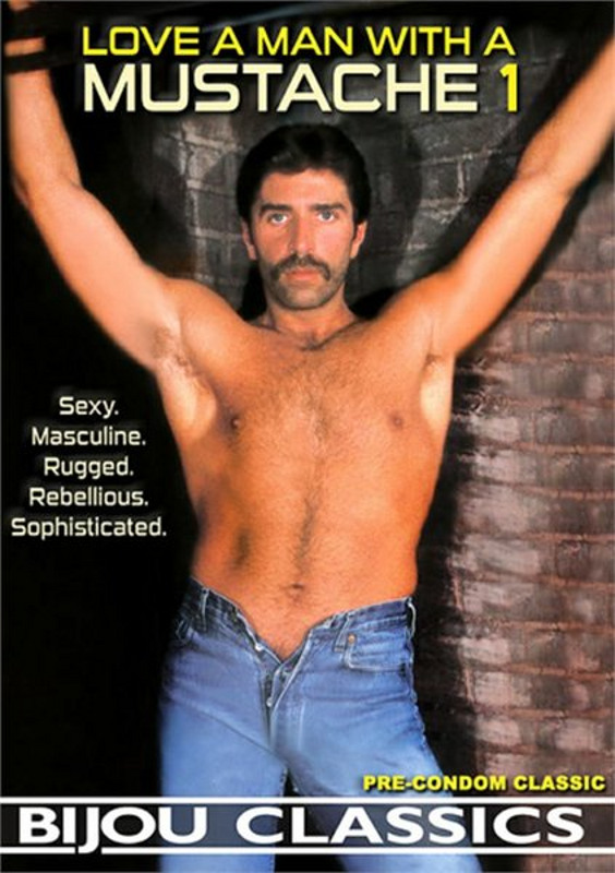 Love a Man with a Mustache  1 Gay DVD Image