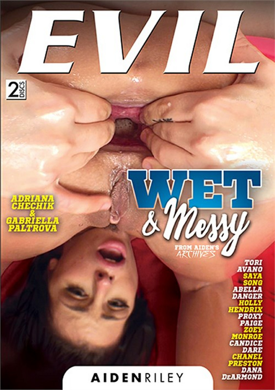 Wet & Messy DVD Image