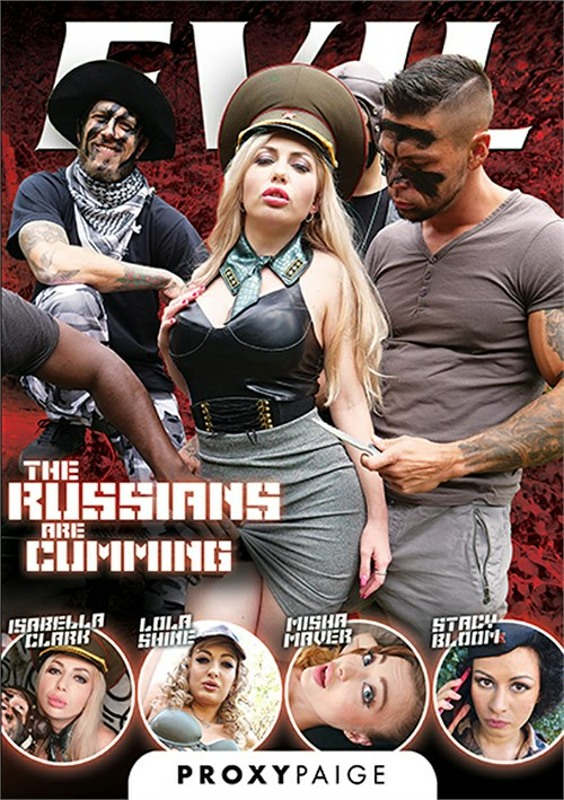 Russians Are Cumming, The DVD image