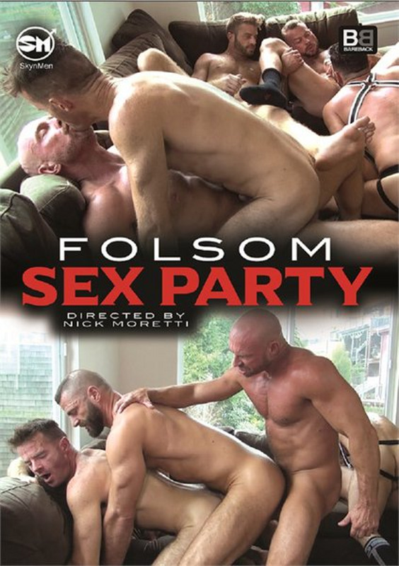 Folsom Sex Party Gay DVD Image