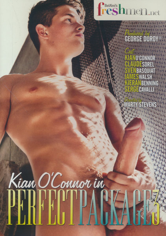 Kian O'Connor In Perfect Package  3 Gay DVD image