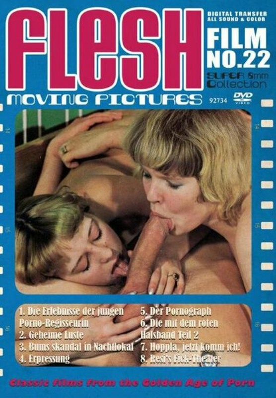 Flesh Film No. 22 DVD Image
