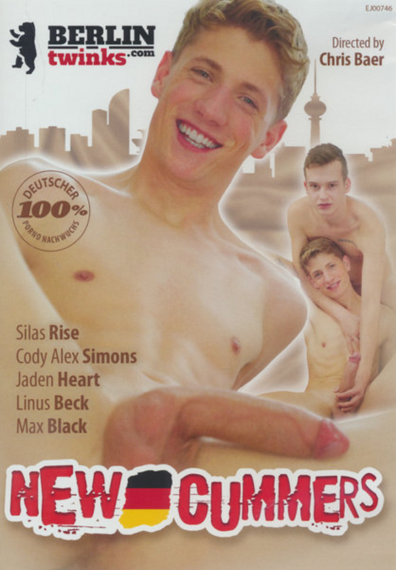 New Cummers Gay DVD Image