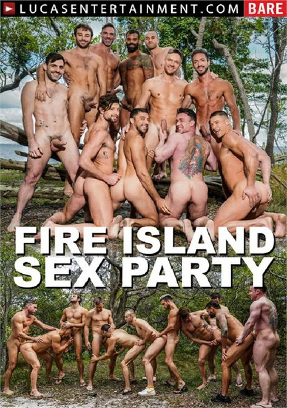 Fire Island Sex Party Gay DVD Image