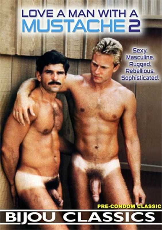 Love a Man with a Mustache  2 Gay DVD Image