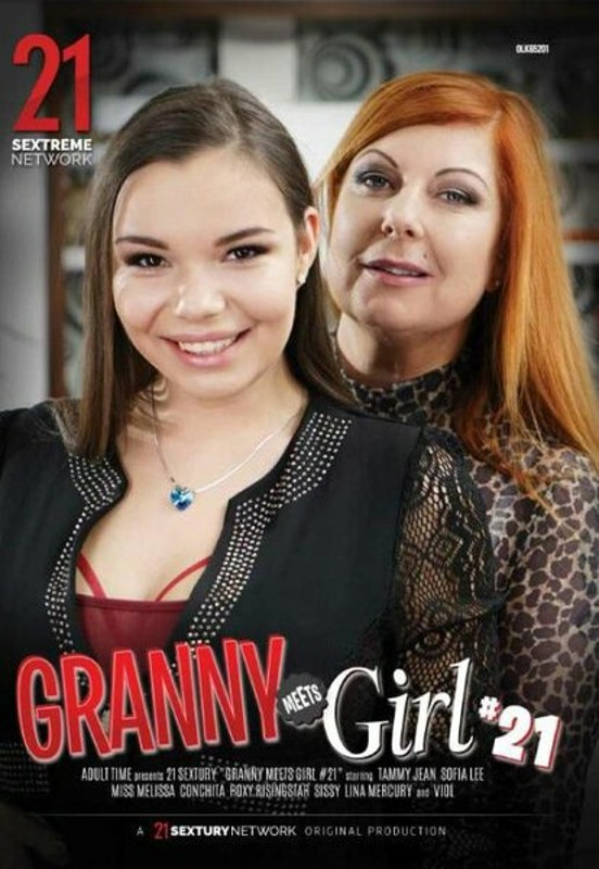 Granny Meets Girl 21 DVD Image
