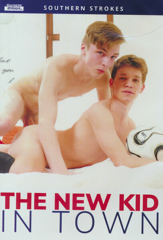 The New Kid In Town Gay DVD Image
