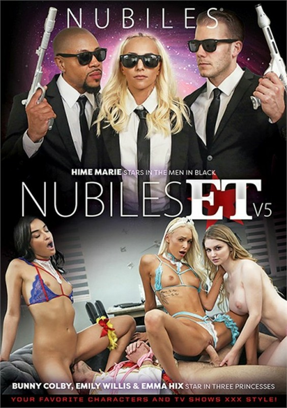 Nubiles ET V5 DVD Image