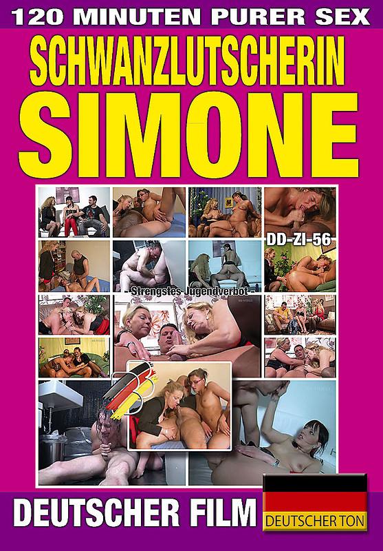 Schwanzlutscherin Simone DVD Image