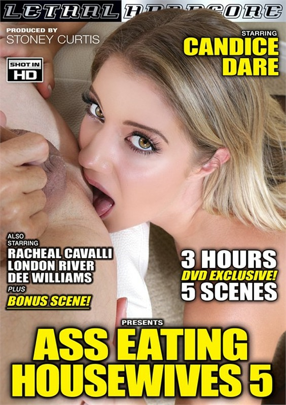Ass Eating Housewives 5 DVD Image