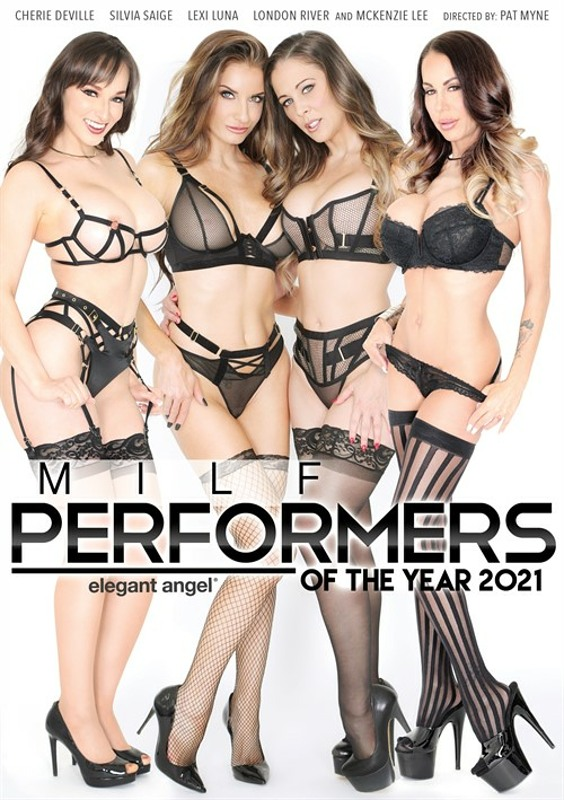 MILF Performers Of The Year 2021 DVD Image