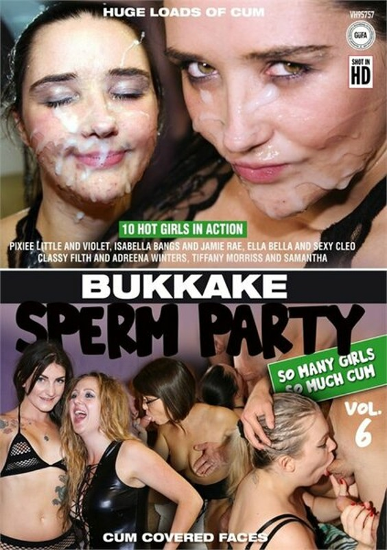 Bukkake Sperm Party  6 DVD Image
