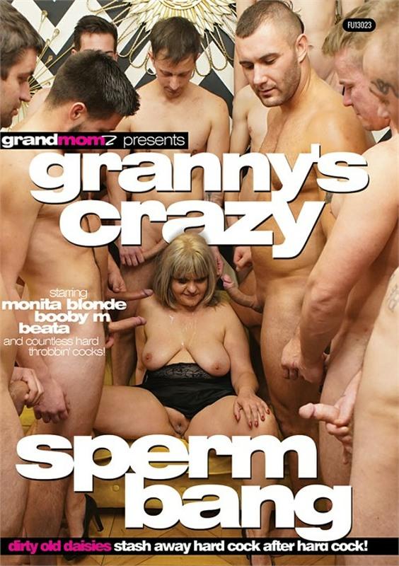 Granny's Crazy Sperm Bang DVD Image