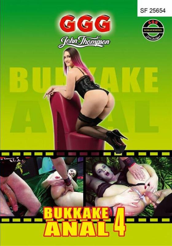Bukkake  Anal  4 DVD Image