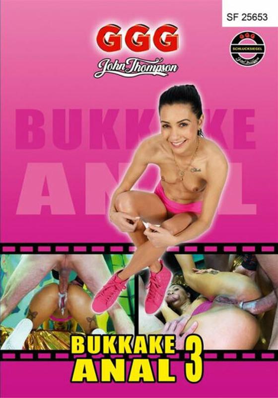 Bukkake Anal  3 DVD Image