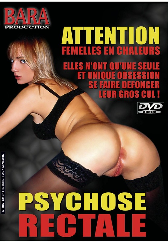 Psychose Rectale DVD Image