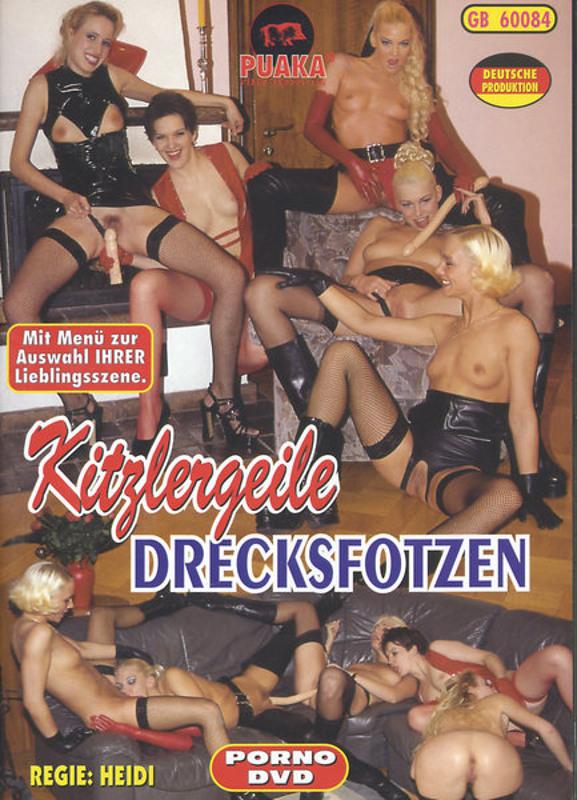 Kitzlergeile Drecksfotzen DVD Image