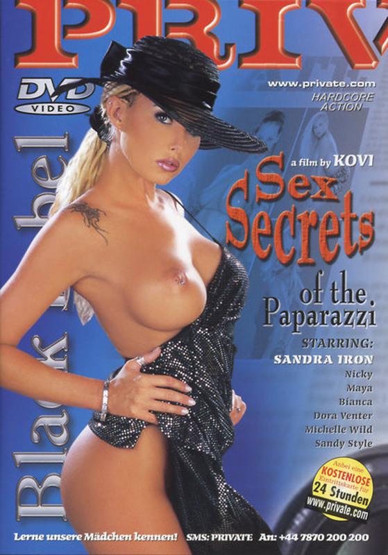 Sex Secrets of the Paparazzi DVD image