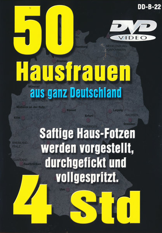 50 Hausfrauen aus ganz Deutschland DVD Image