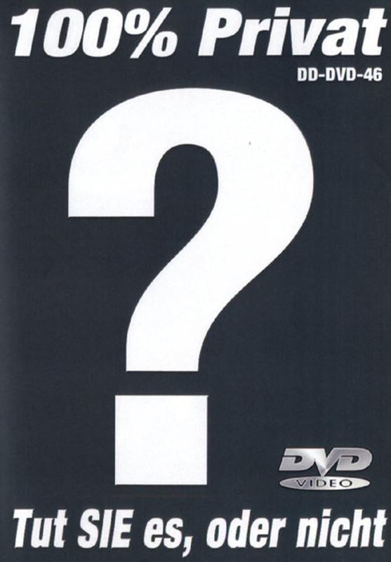 Tut sie es oder nicht DVD image