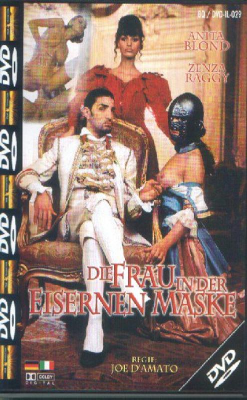 Die Frau in der Eisernen Maske DVD Image