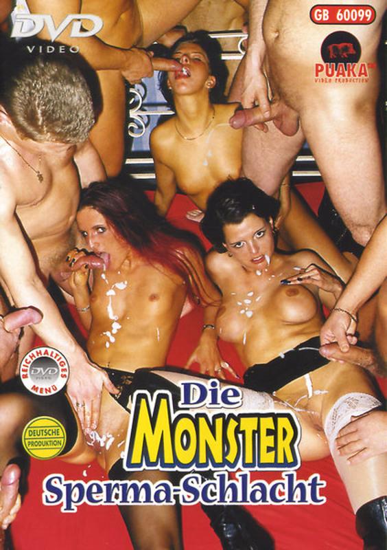 Die Monster Sperma - Schlacht DVD Image