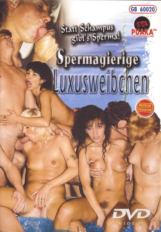 Spermagierige Luxusweibchen DVD Image