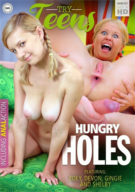 Hungry Holes DVD Image