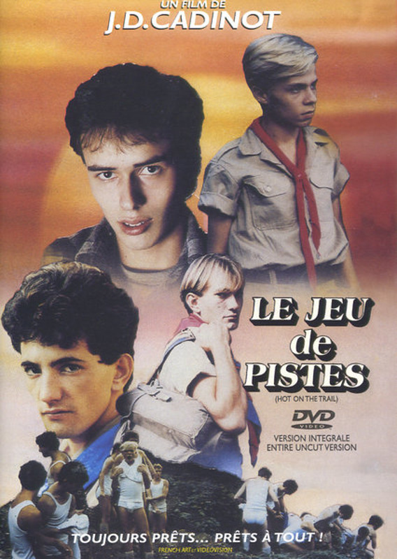 J.D.Cadinot  Le Jeu de Pistes Gay DVD Bild